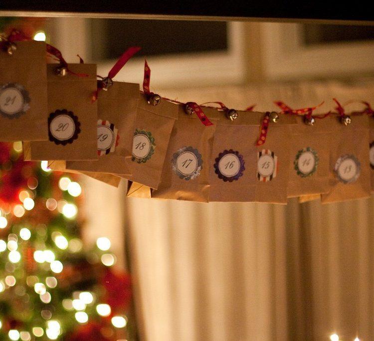 DIY // Countdown to Christmas Advent Calendar