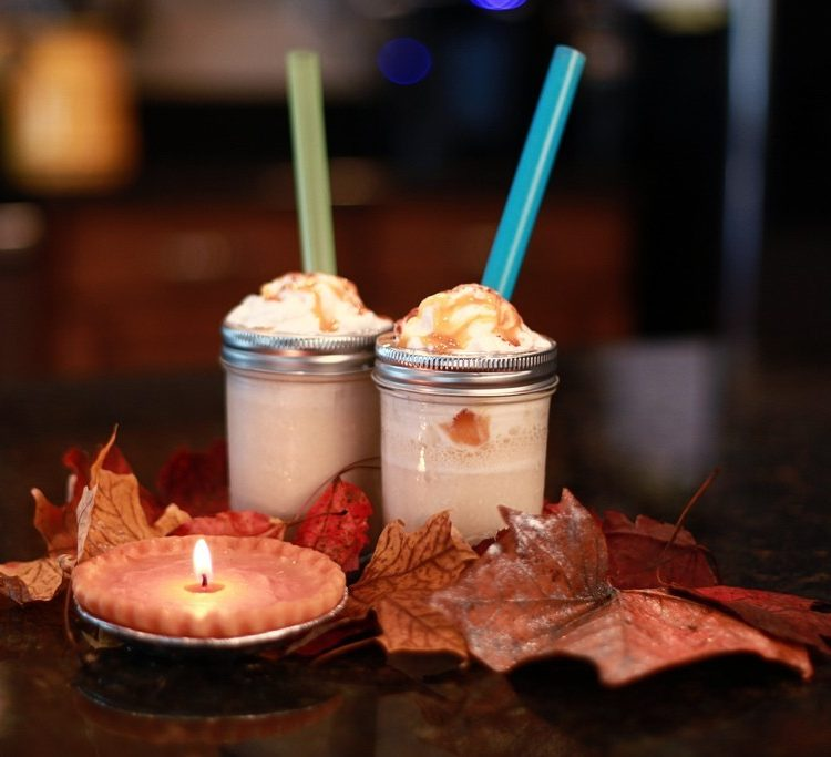 KitchenWise:: Pumpkin Pie Milkshake