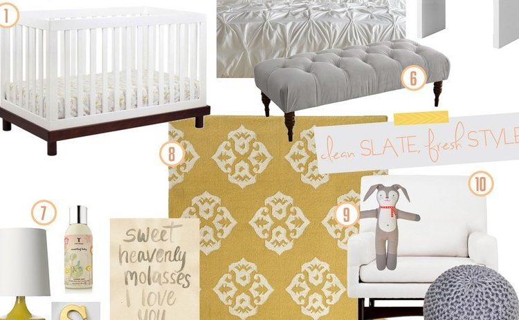 Master Bedroom + Nursery Nook Inspiration Board