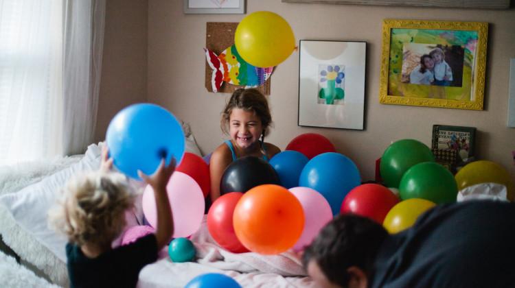 birthday girl on fresh mommy blog