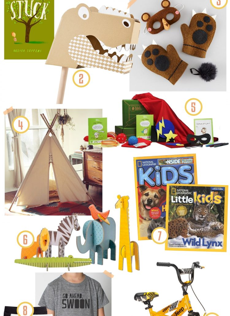 Gift Guide // for the Little Boy