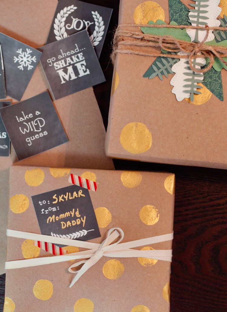 Pretty Little Packaging and Free Christmas Tags Printable