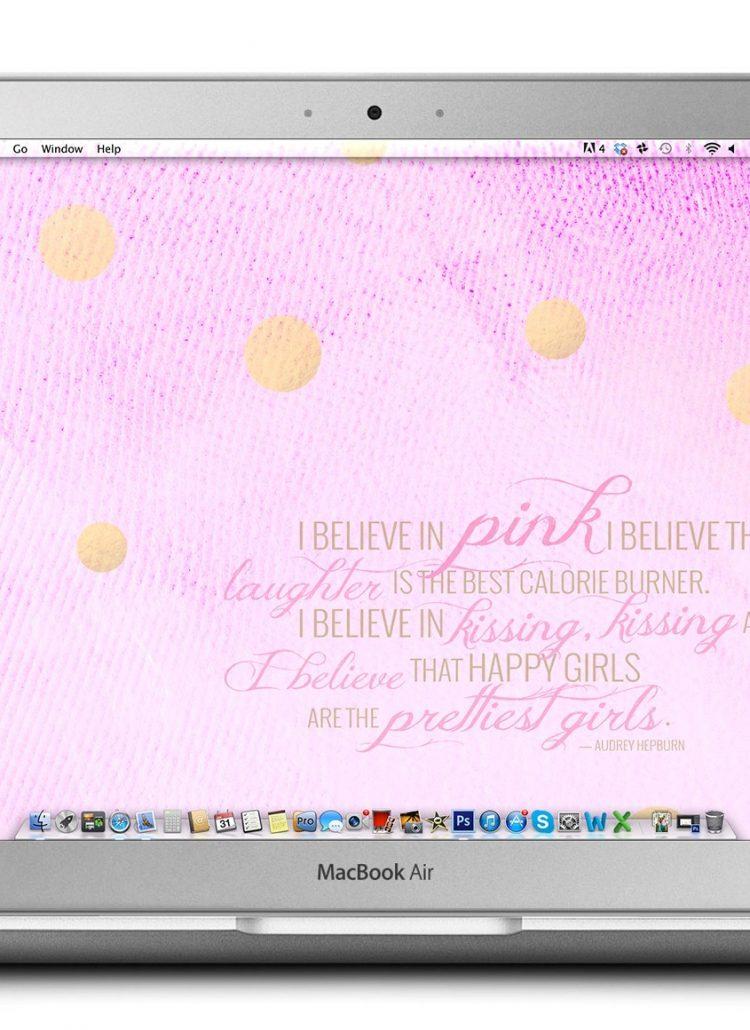 Tech Treat // I Believe in Pink