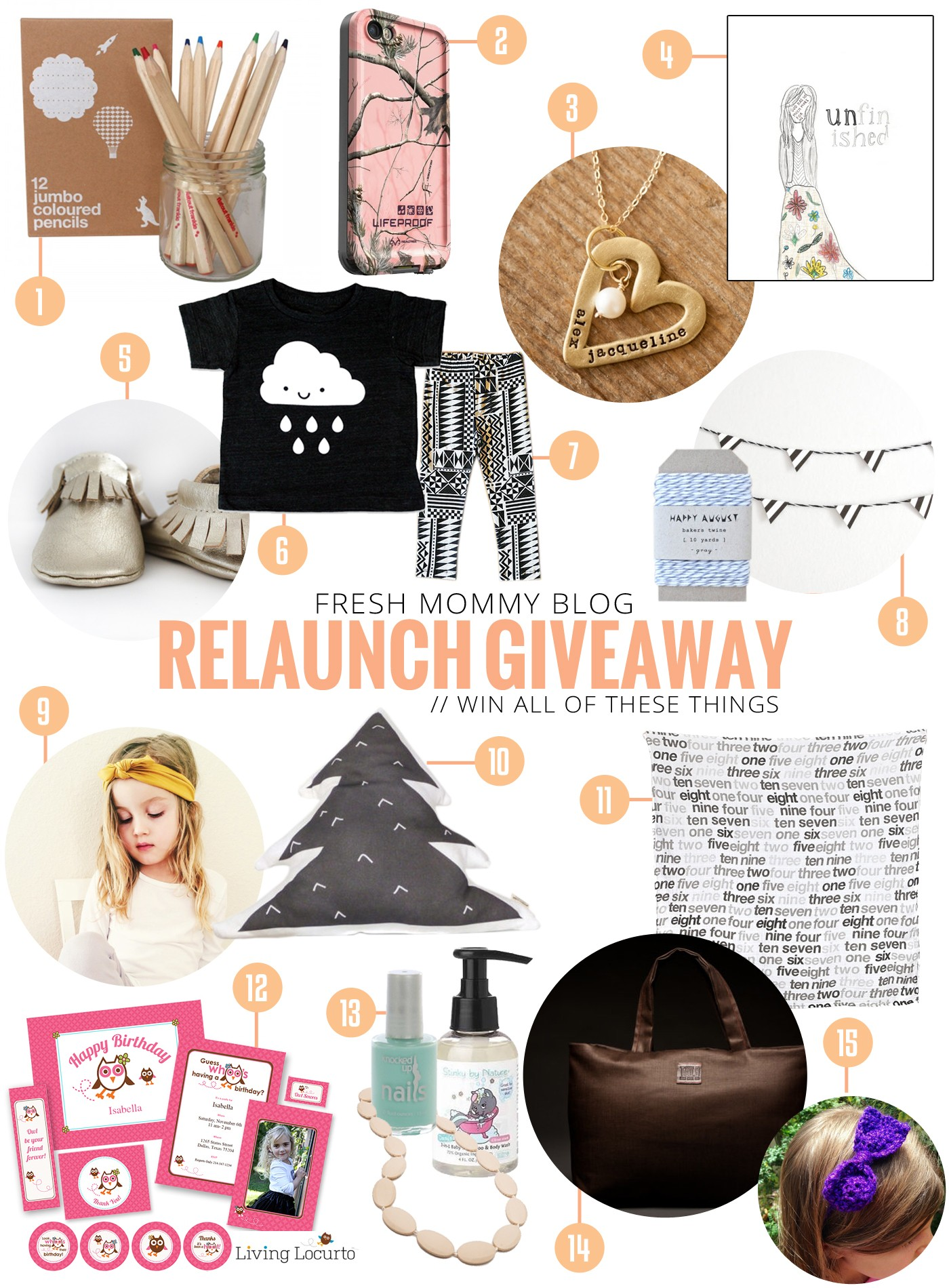 Fresh Mommy Blog HUGE Relaunch Giveaway