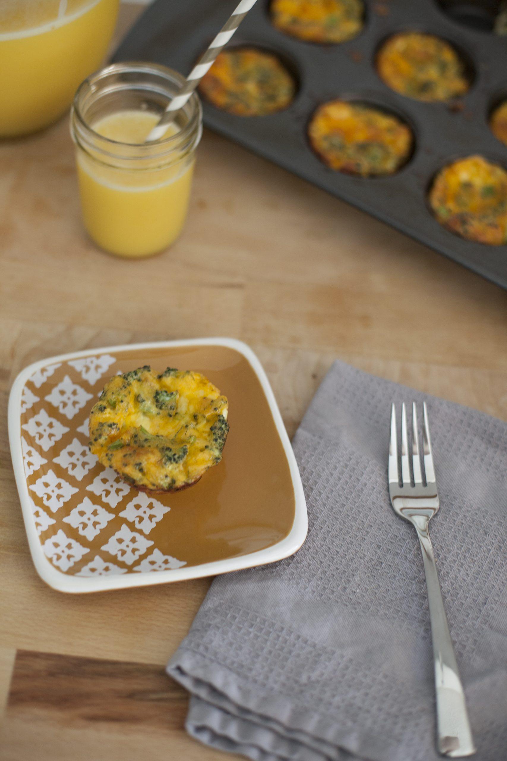 KitchenWise // Mini Crustless Quiche