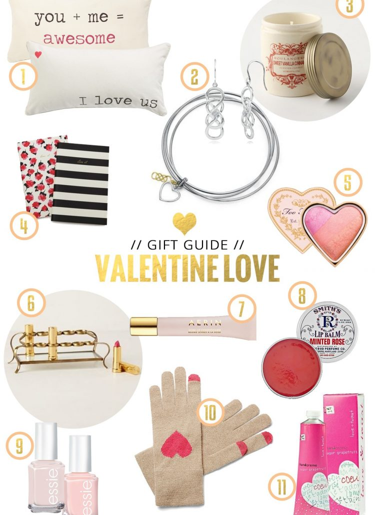 Gift Guide // for Your Valentine