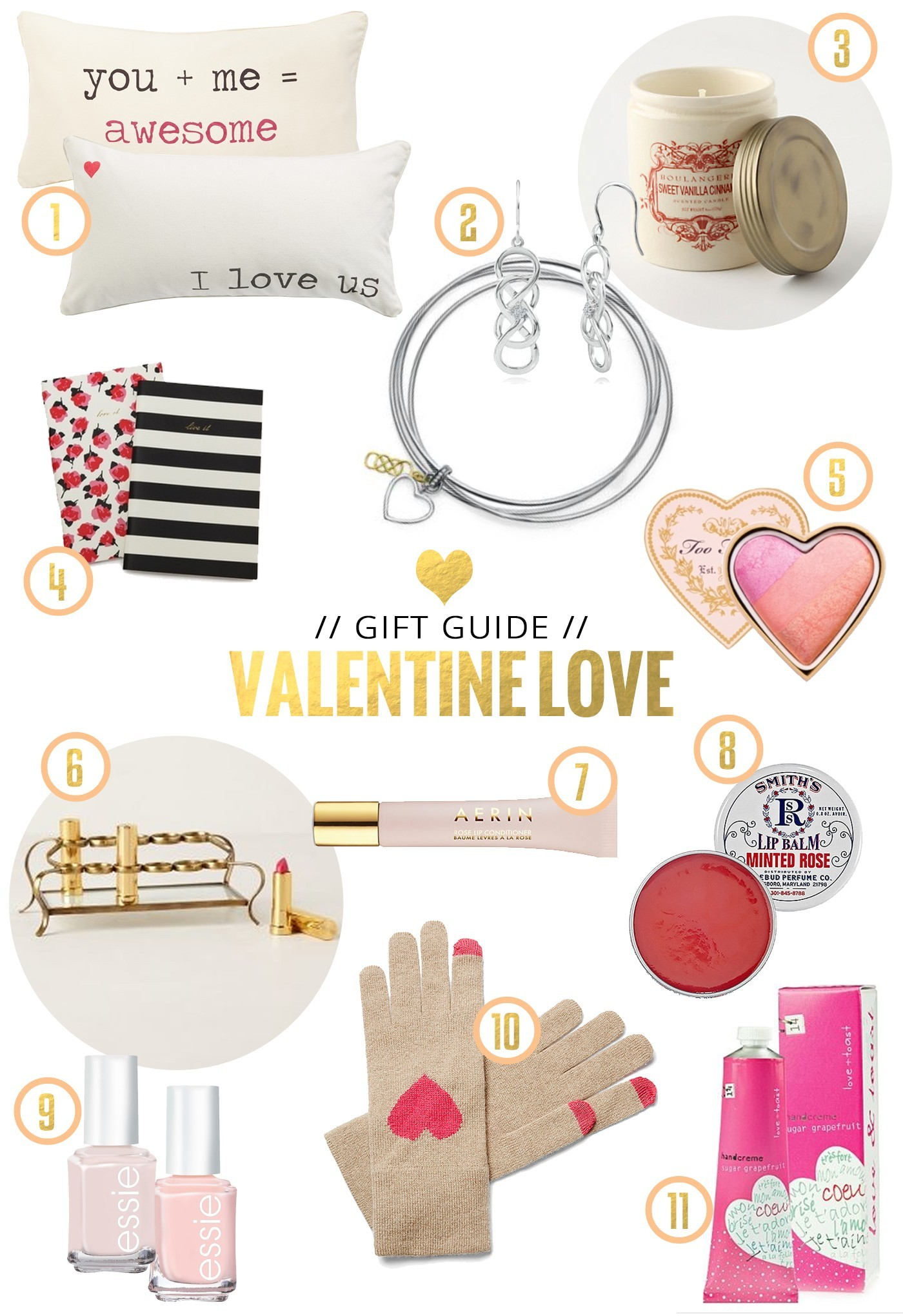 Valentine's Day Gift Guide / 11 Great Gift Ideas for Her : Fresh ...