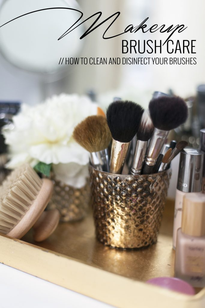 makeup brush care from fresh mommy blog
