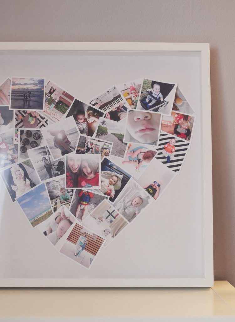Heart Photo Collage by popular Florida lifestyle blogger Fresh Mommy Blog