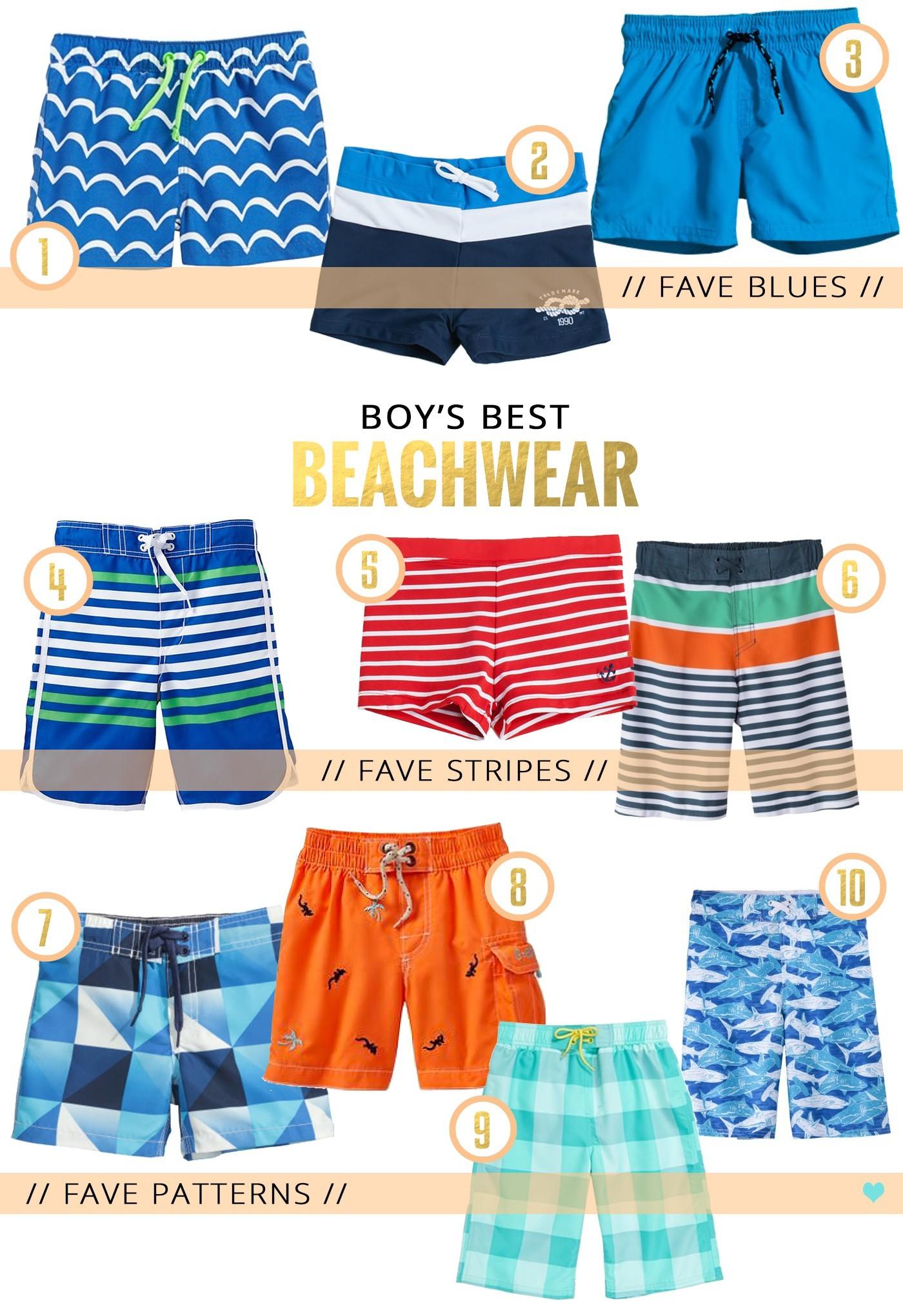 boys swimwear faves