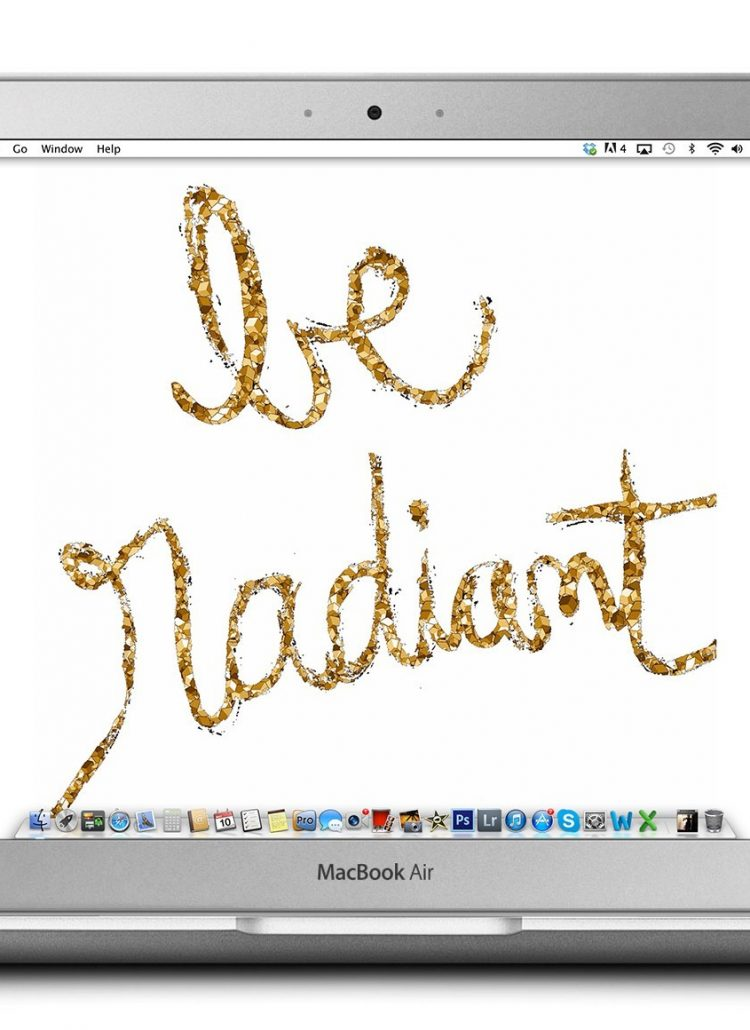 Be Radiant // May Tech Treat