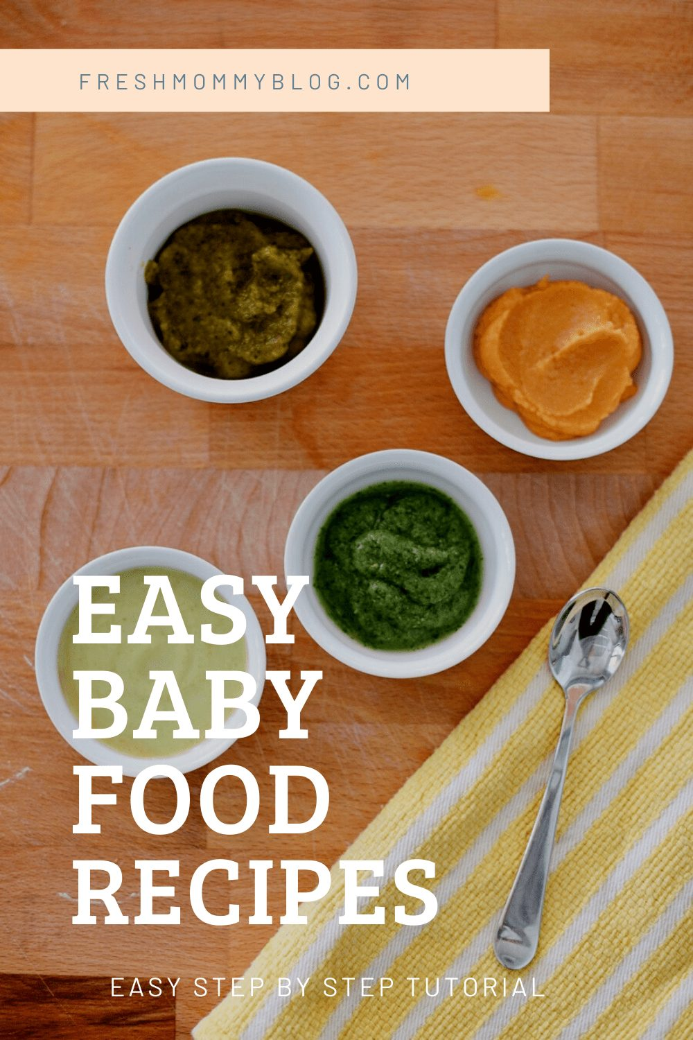 A HUGE benefit of making your own homemade baby food, besides the huge cost savings you'll see, is that you can adjust flavors based on your kid's own pallets. Plus, you know exactly what is in the food that you're feeding them!