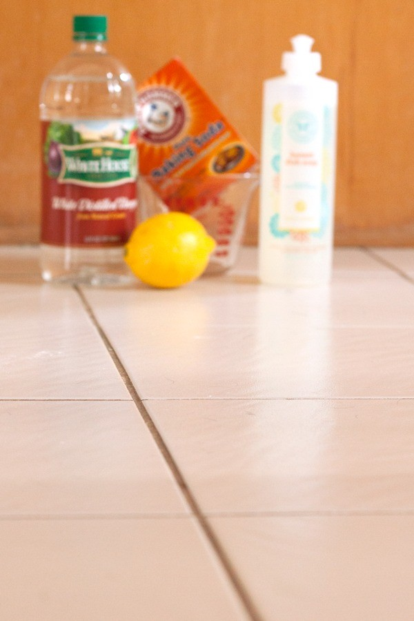 Do It Yourself Grout Cleaner from Fresh Mommy Blog