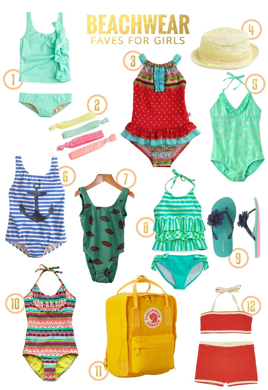 Beachwear Favorites for Girls 2014