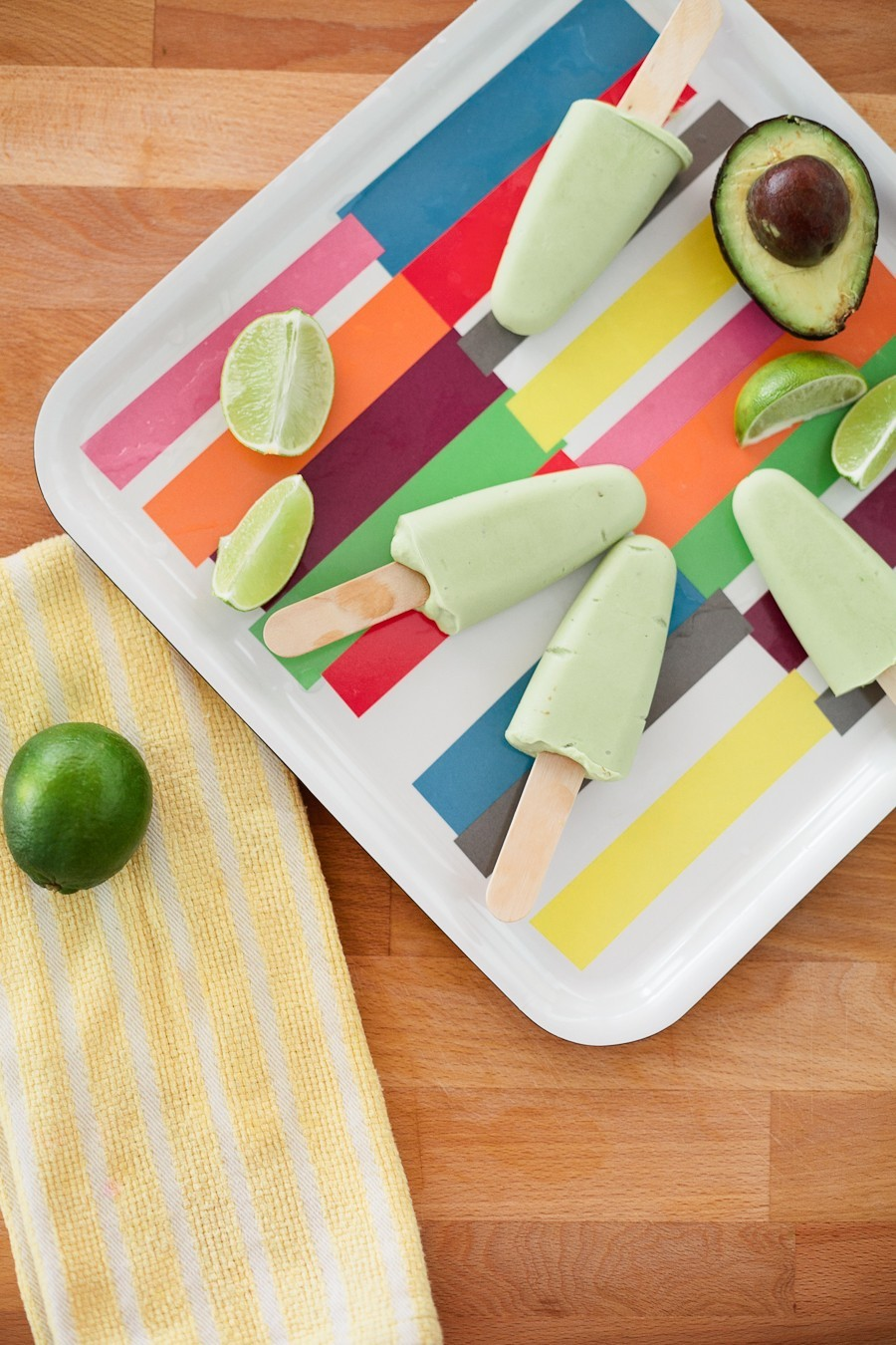 Tropical Avocado Popsicle