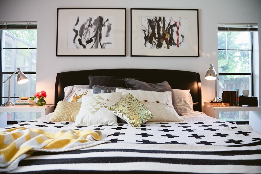 5 Tips to Cozy Up a Rental Space   Bedroom Makeover on Fresh Mommy Blog