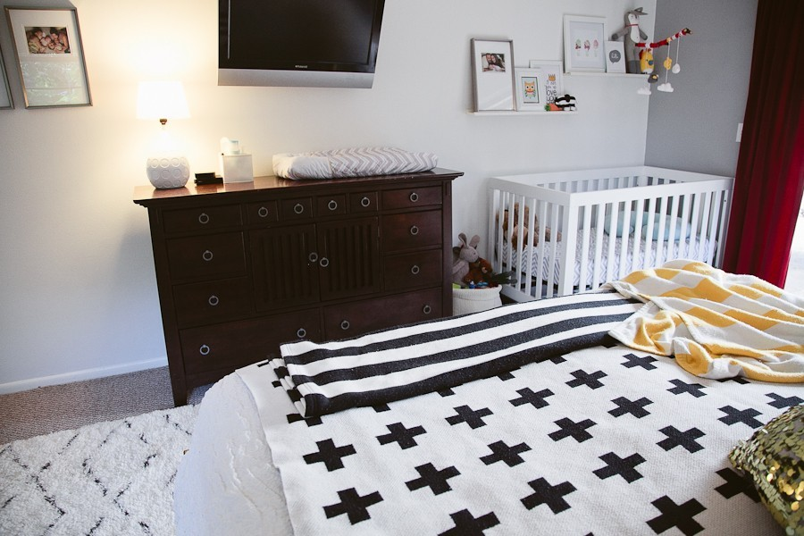 5 Tips to Cozy Up a Rental Space | Bedroom Makeover on Fresh Mommy Blog-12