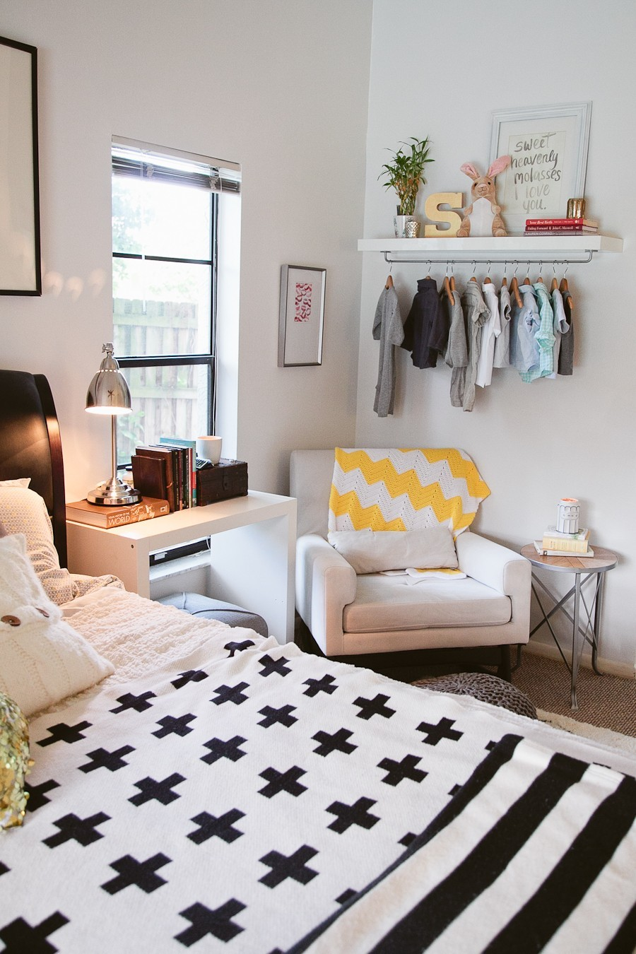 5 Tips to Cozy Up a Rental Space | Bedroom Makeover on Fresh Mommy Blog-20