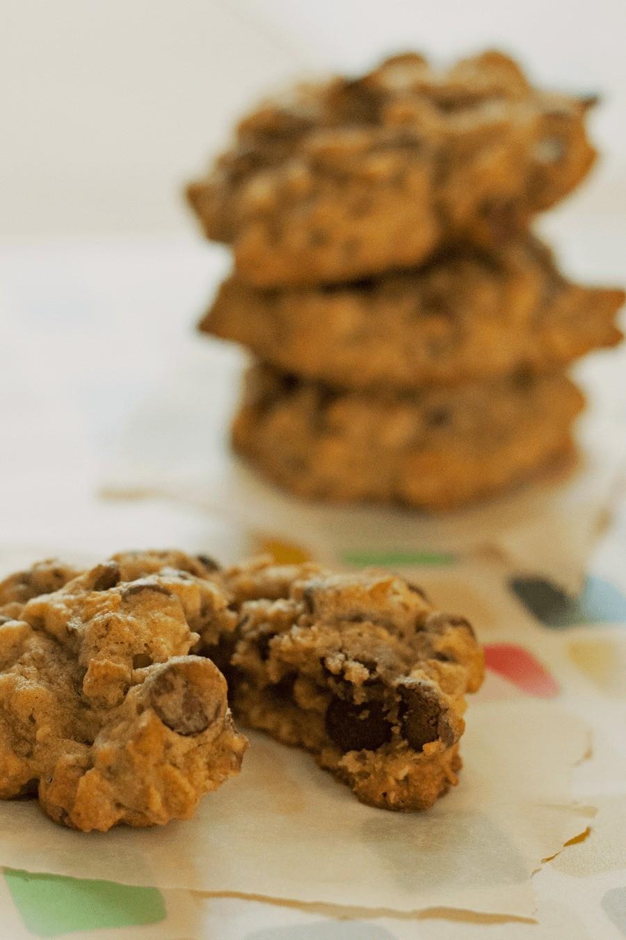Eats // Monster Milk Cookies by Fresh Mommy Blog