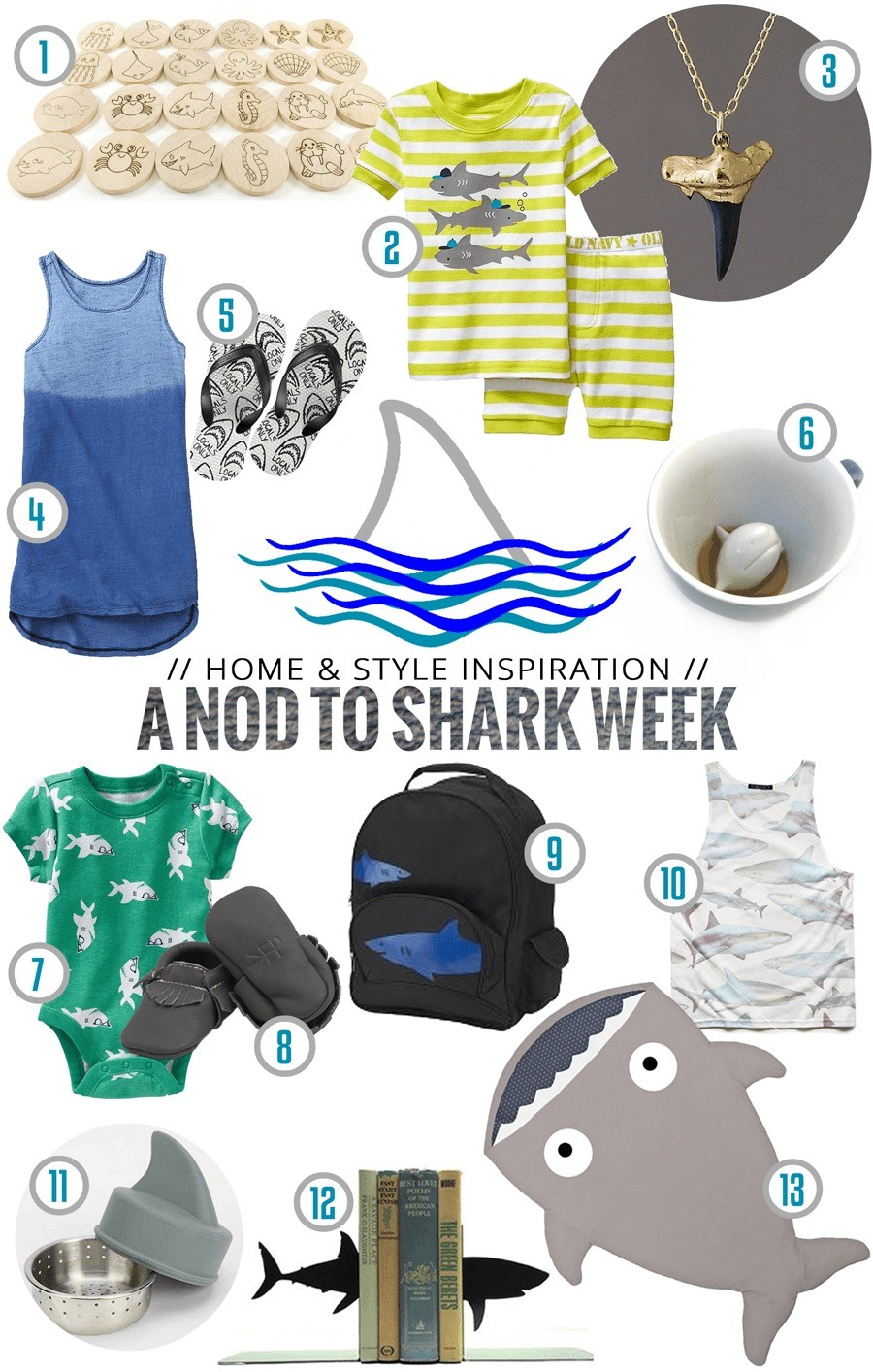 Shark Week Inspiration on Fresh Mommy Blog