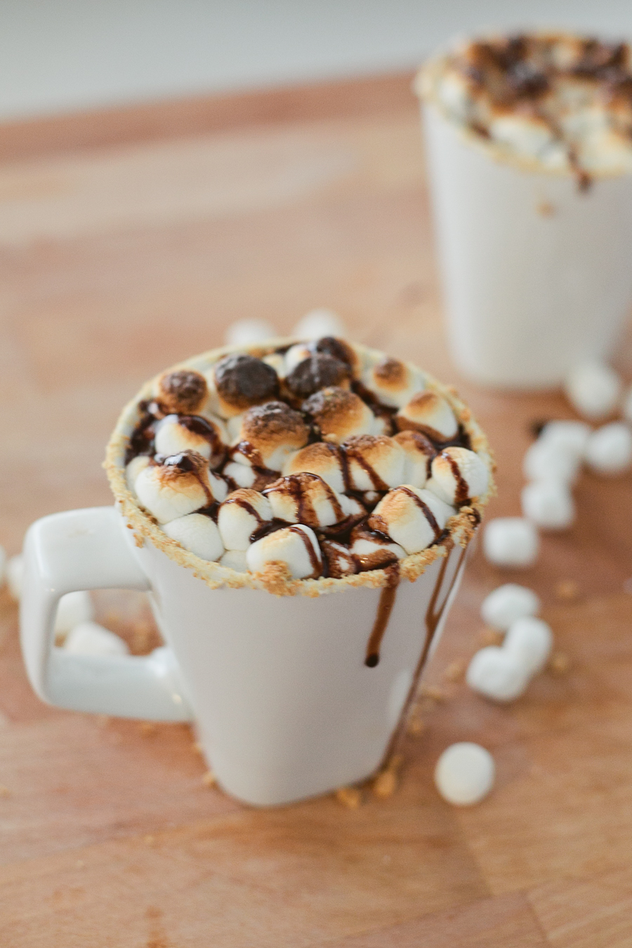 #SmoresWeek Salted Caramel Smores Hot Chocolate by Fresh Mommy Blog