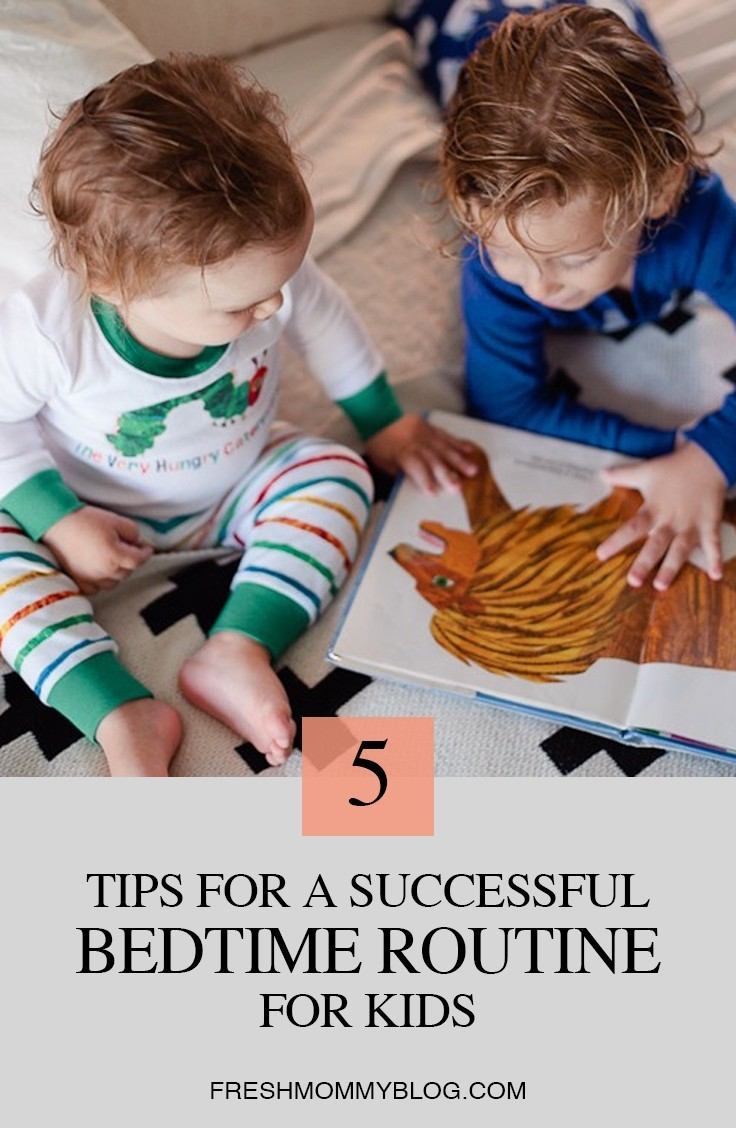 TIPS FOR A SUCCESSFUL BEDTIME ROUTINE FOR KIDS