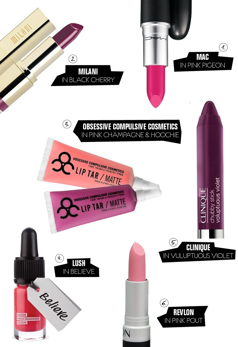 #PROJECTlipstick Pink Week Inspiration from Fresh Mommy Blog