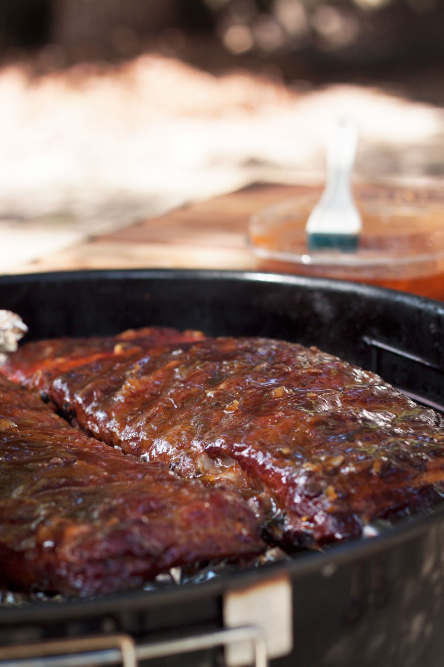 Sweet and Spicy Grilled Ribs by Fresh Mommy Blog