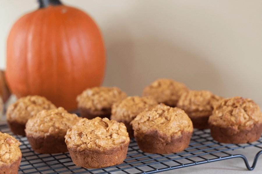 Eats // Skinny Pumpkin Muffins by Fresh Mommy Blog