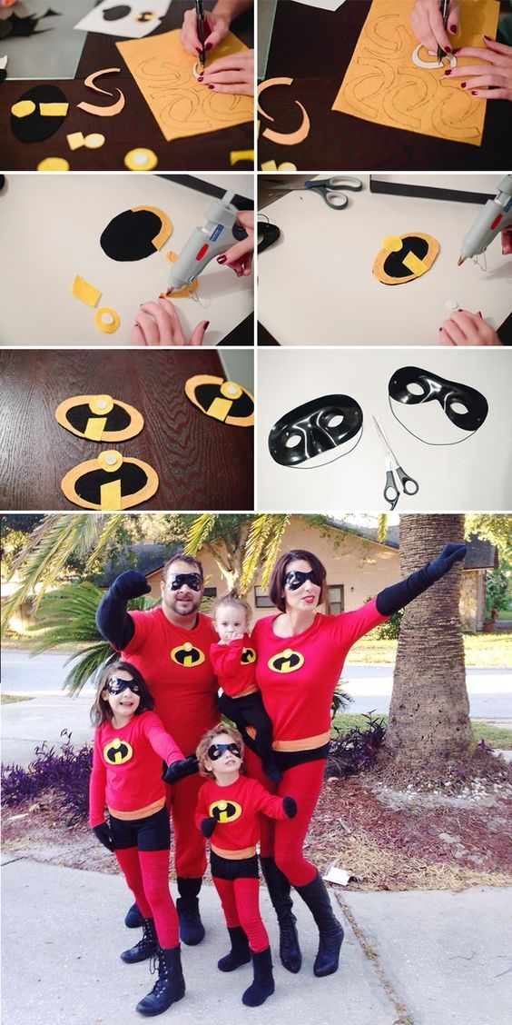 DIY Incredibles Costume | Fresh Mommy Blog - Easy DIY Incredibles Family Costume by popular Florida lifestyle blogger Fresh Mommy Blog