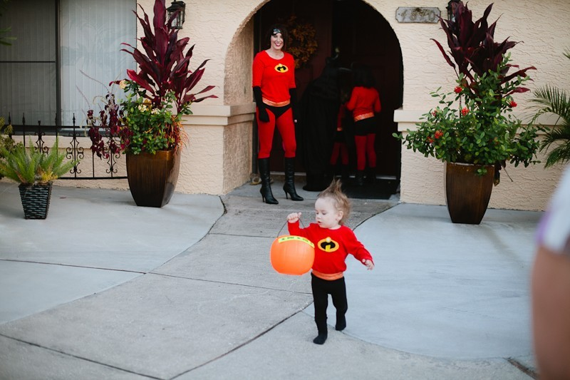 DIY Incredibles Costume | Fresh Mommy Blog-19 - Easy DIY Incredibles Family Costume by popular Florida lifestyle blogger Fresh Mommy Blog