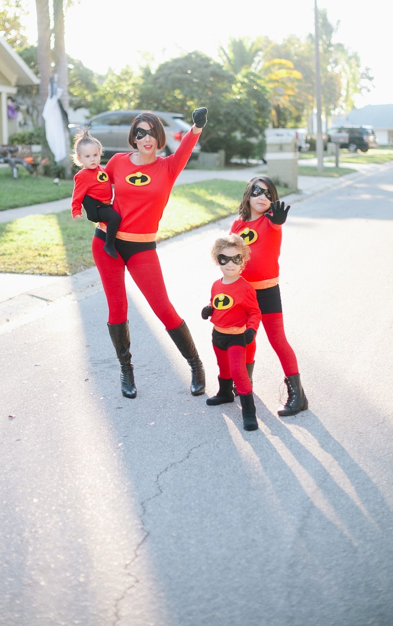 DIY Incredibles Costume | Fresh Mommy Blog-21 - Easy DIY Incredibles Family Costume by popular Florida lifestyle blogger Fresh Mommy Blog