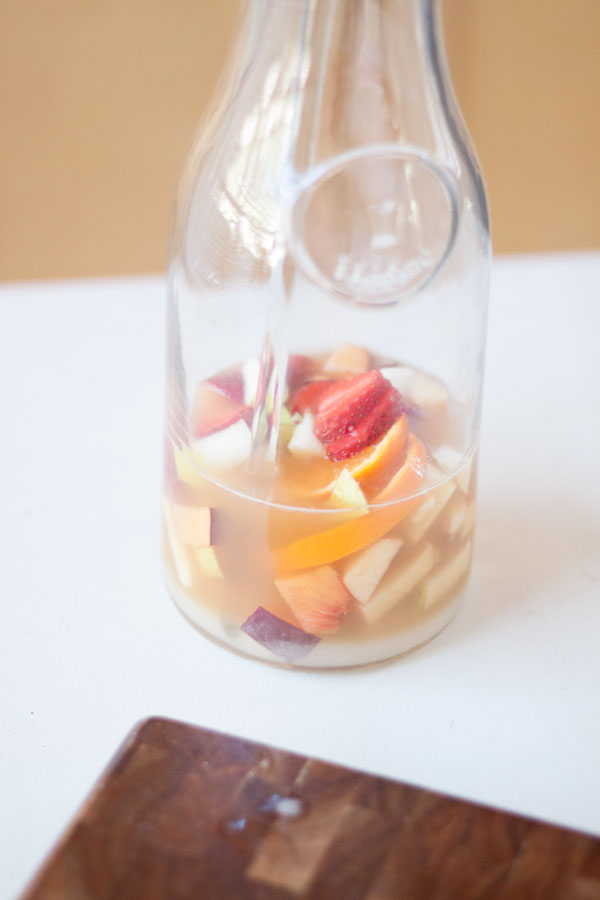 Eats // Fresh and Fruity Sangria by Fresh Mommy Blog