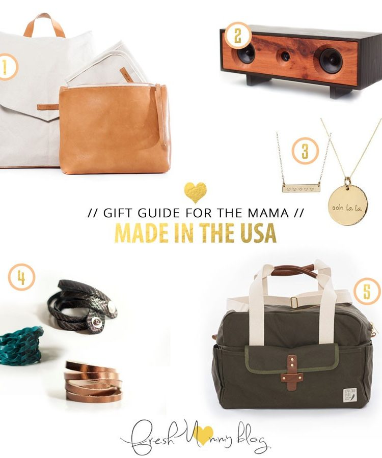 Made in the USA Gift Guide // for the Mama