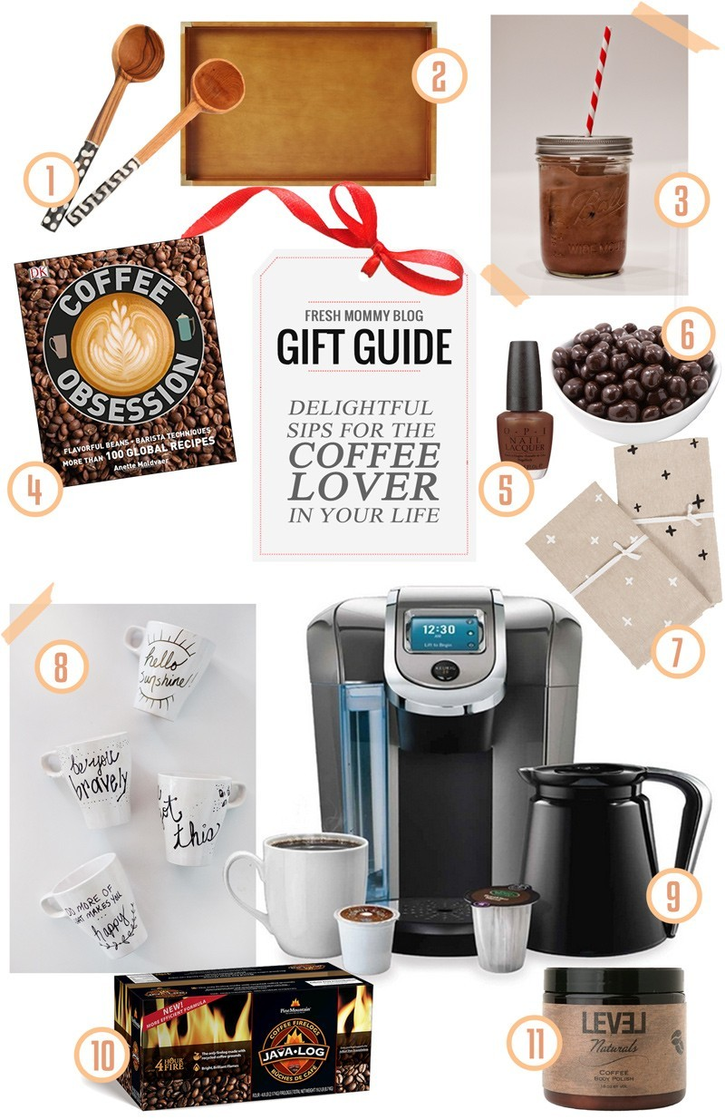 Gift Guide // Top Gifts For the Coffee Lover : Fresh Mommy ...