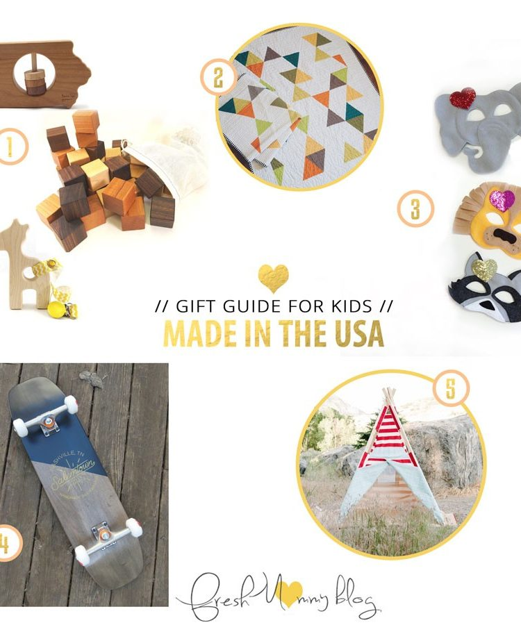 Made in the USA Gift Guide // for the Kids