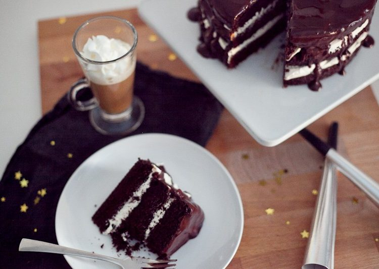 Keurig dulce de leche coffee and chocolate espresso cake