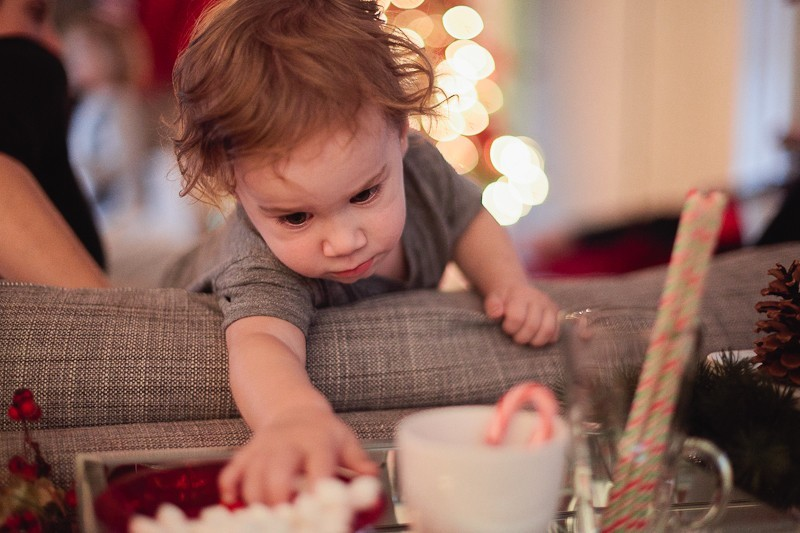 Christmas sneaking
