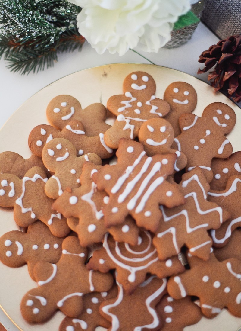 The Best Christmas Gingerbread Cookies