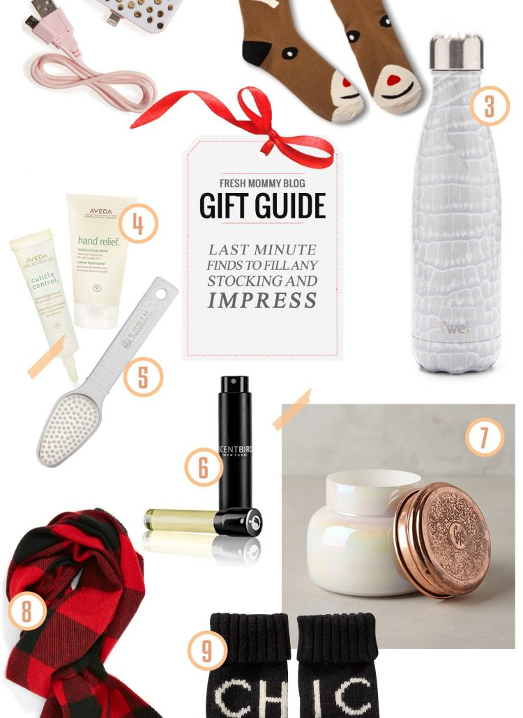 Gift Guide // Last Minute Gifts and Stocking Stuffers