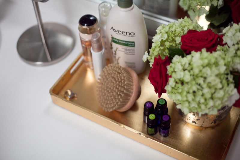 dry brushing for smooth skin