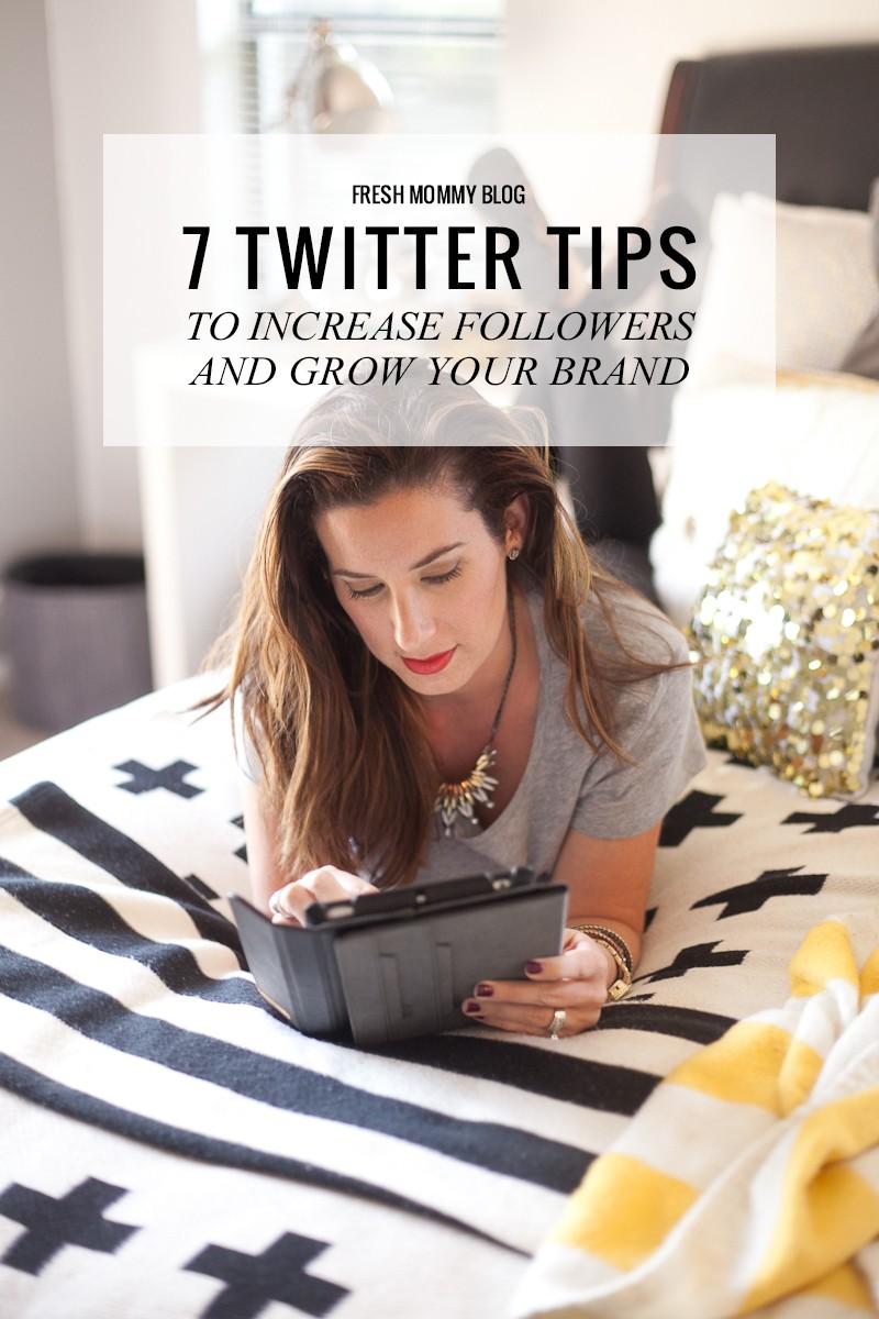 fresh mommy blog, blogging tips, twitter, social media