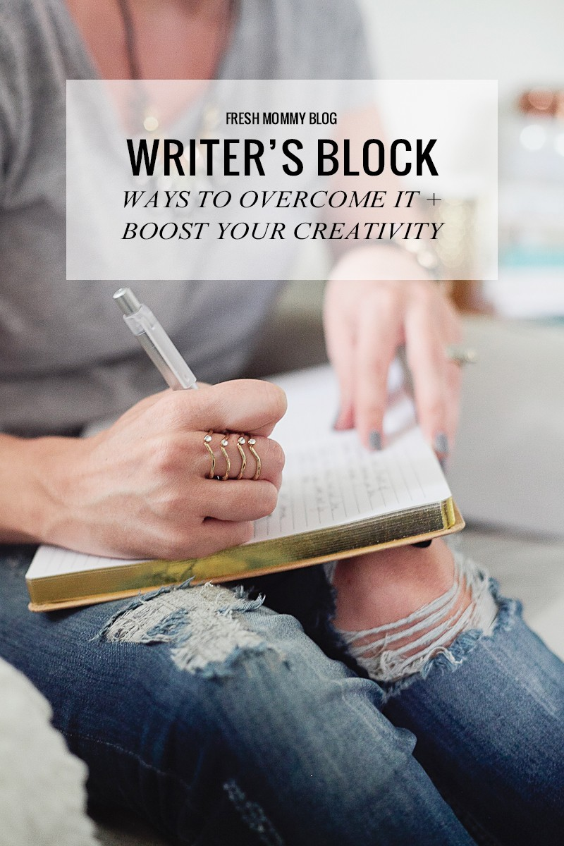 Overcoming Writer's Block and Boosting Creativity
