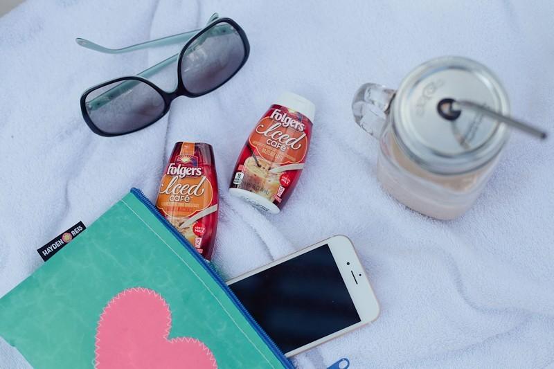 Iced Café, Folgers®, iced coffee #MyIcedCafe