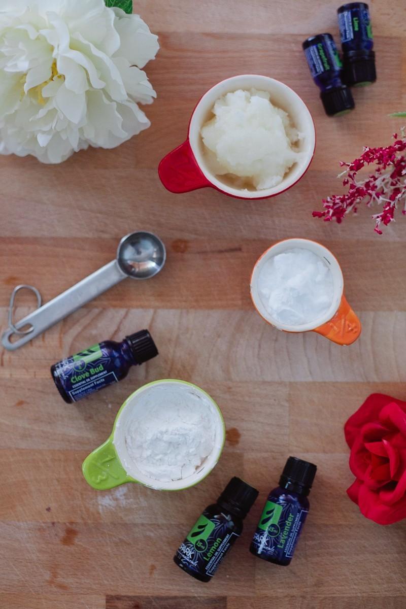 Essential Oil Deodorant recipe