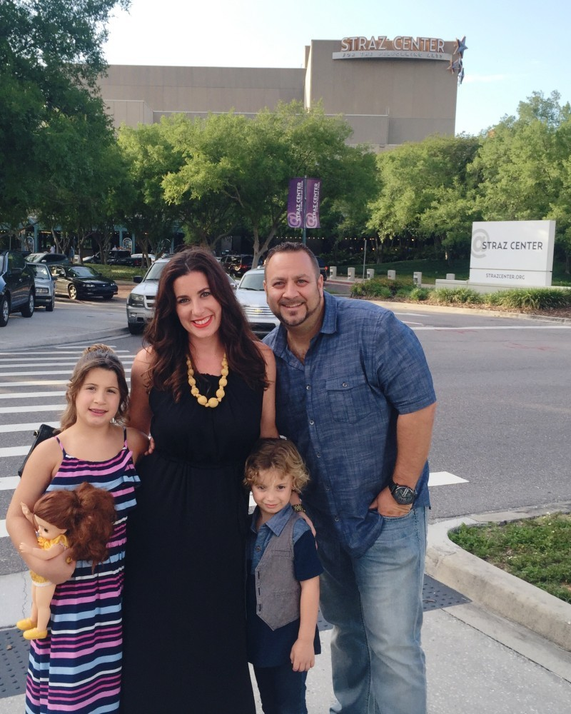 Disney's Broadway Tour of The Beauty and the Beast Musical for #BroadwayinTampa at the Straz Center