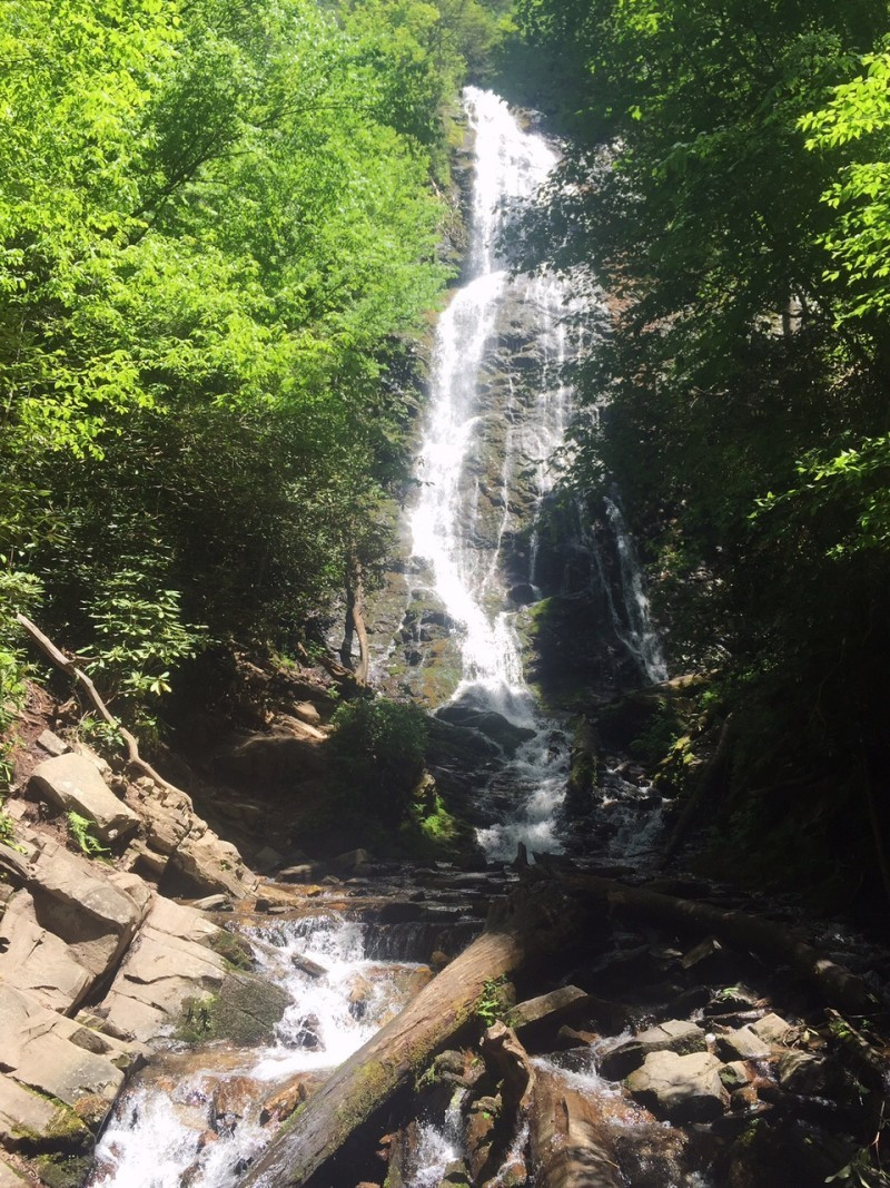 Mingo Falls, Smoky Mountain Waterfalls, NC