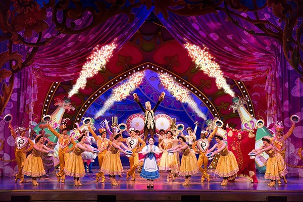 Disney's Broadway Tour of The Beauty and the Beast Musical for #BroadwayinTampa at the David A. Straz Center