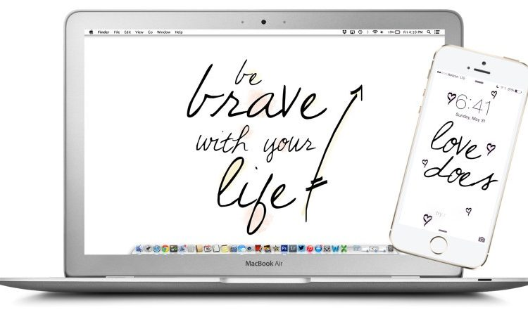 You Do You + Be Brave With Your Life // Tech Treat Free Download