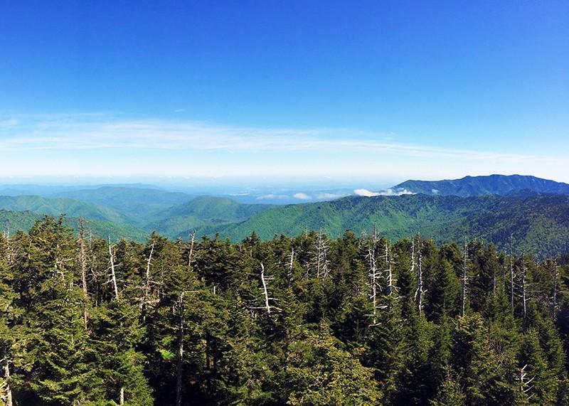 Smoky Mountains Clingmans Dome